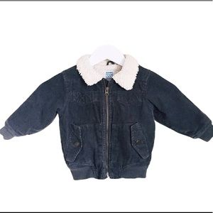 OLD NAVY Aviator Brown Jacket Baby Boy Age 18-24M